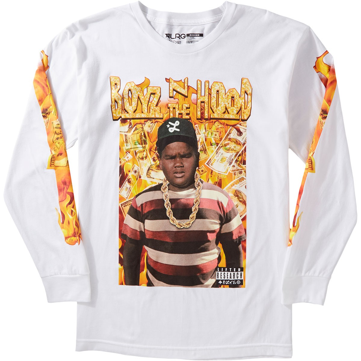 Lrg X Boyz N The Hood Dough Boy Longsleeve T Shirt White
