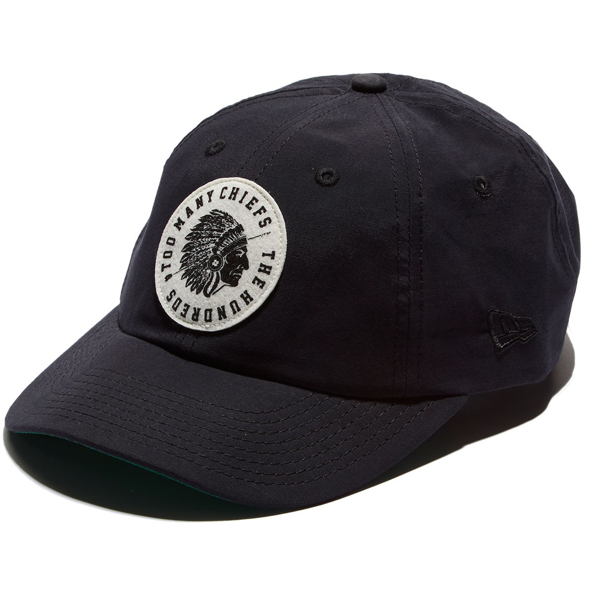 3992315a6a1 The Hundreds Chief New Era Hat - Black