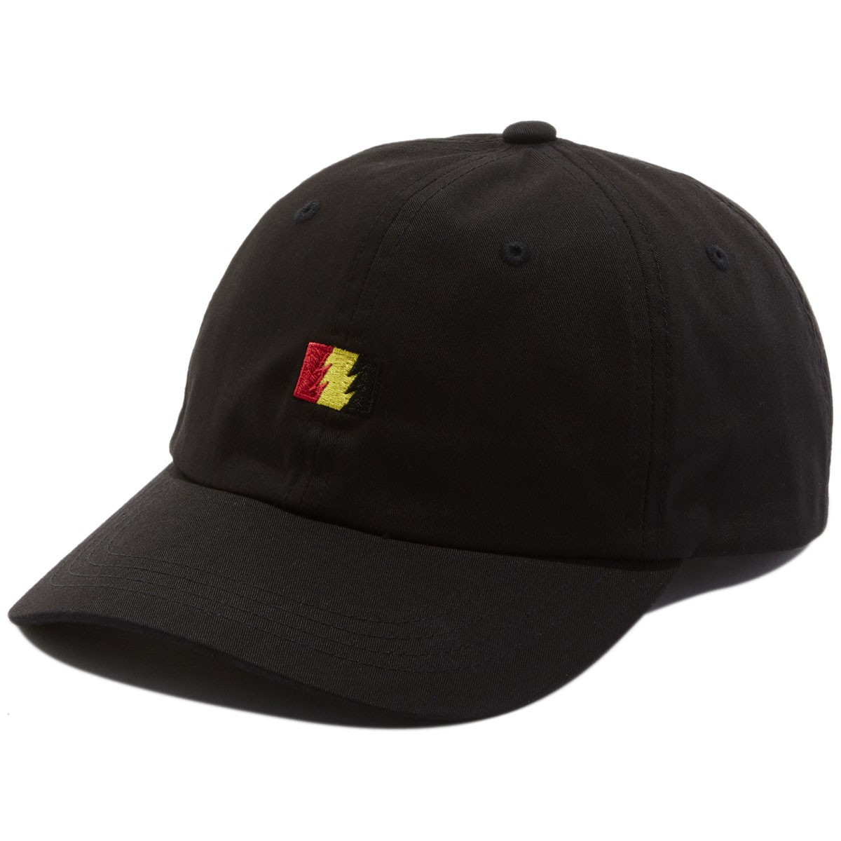 The Hundreds Flag Strapback Hat - Black