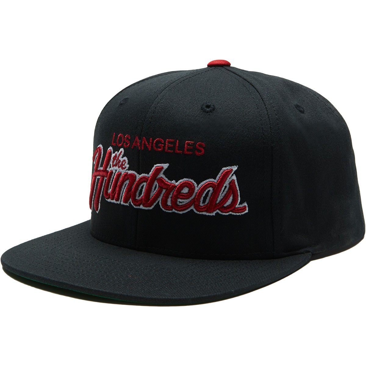 5f45eaa351f47 The Hundreds Team Two Snapback Hat - Black
