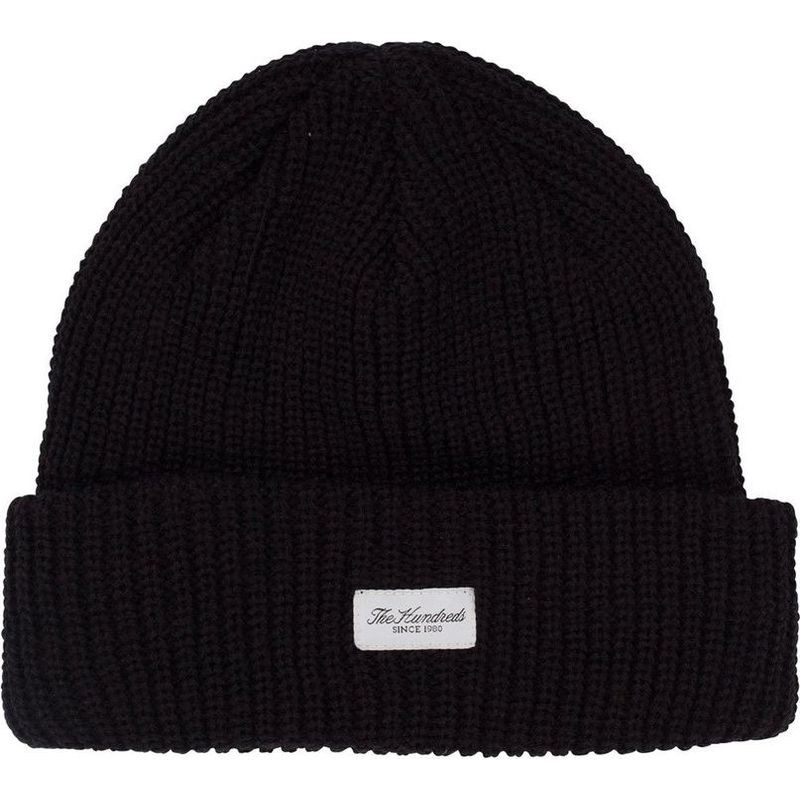 40c417128e2 The Hundreds Crisp 2018 Beanie - Black