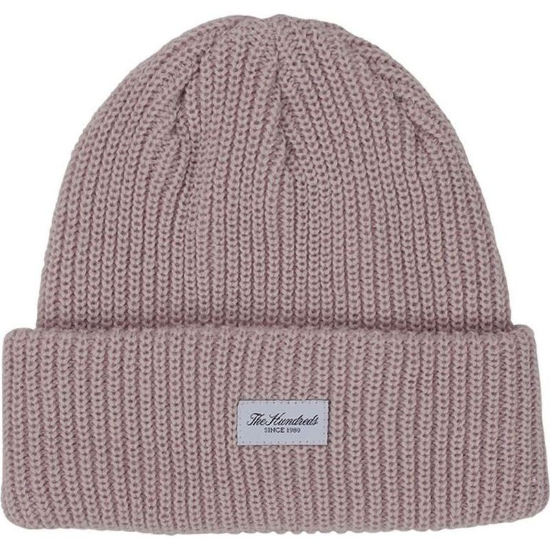 ca5ff66117b The Hundreds Crisp 2018 Beanie - Pale Mauve
