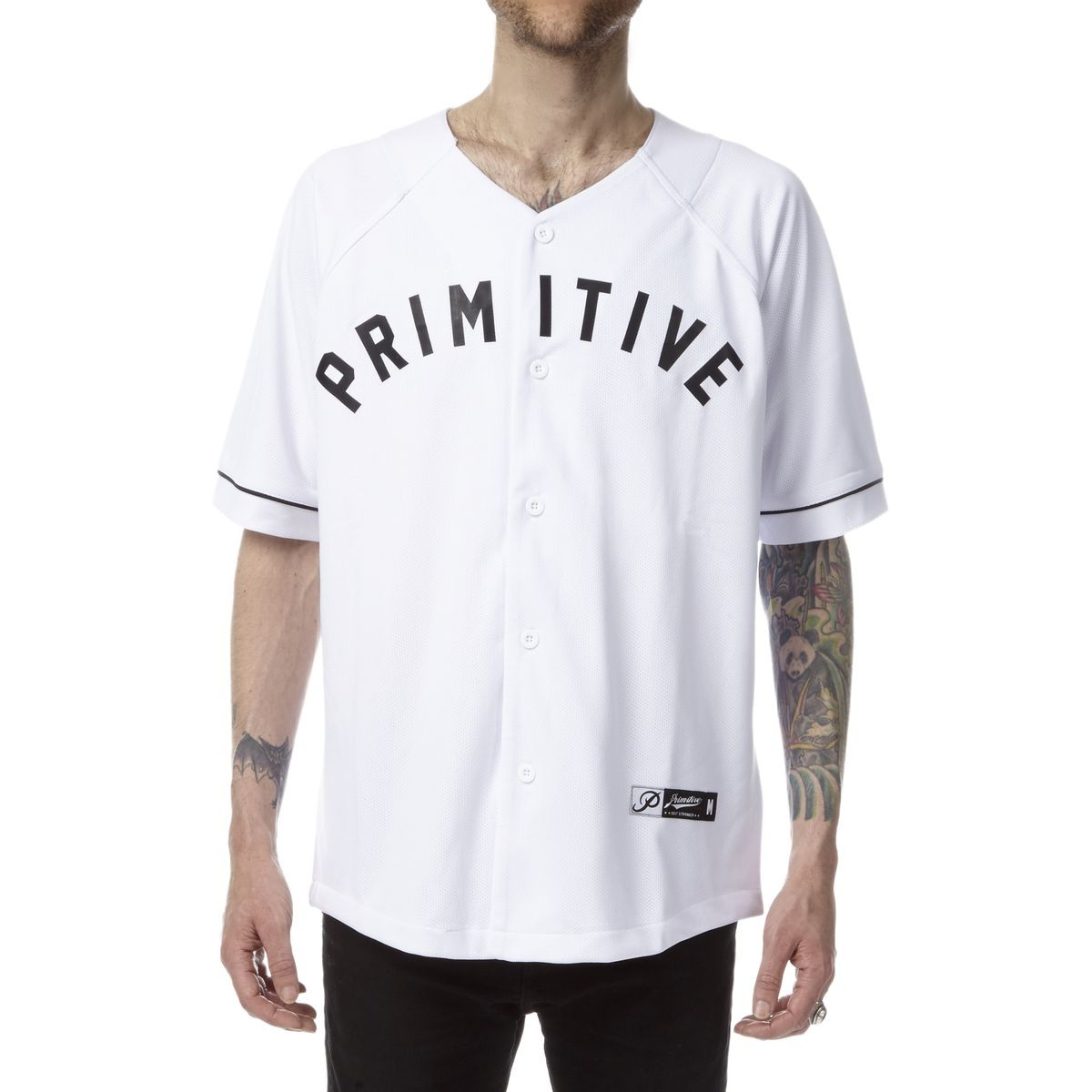 check out 7b294 1ed6d Primitive Underwood Baseball Jersey - White