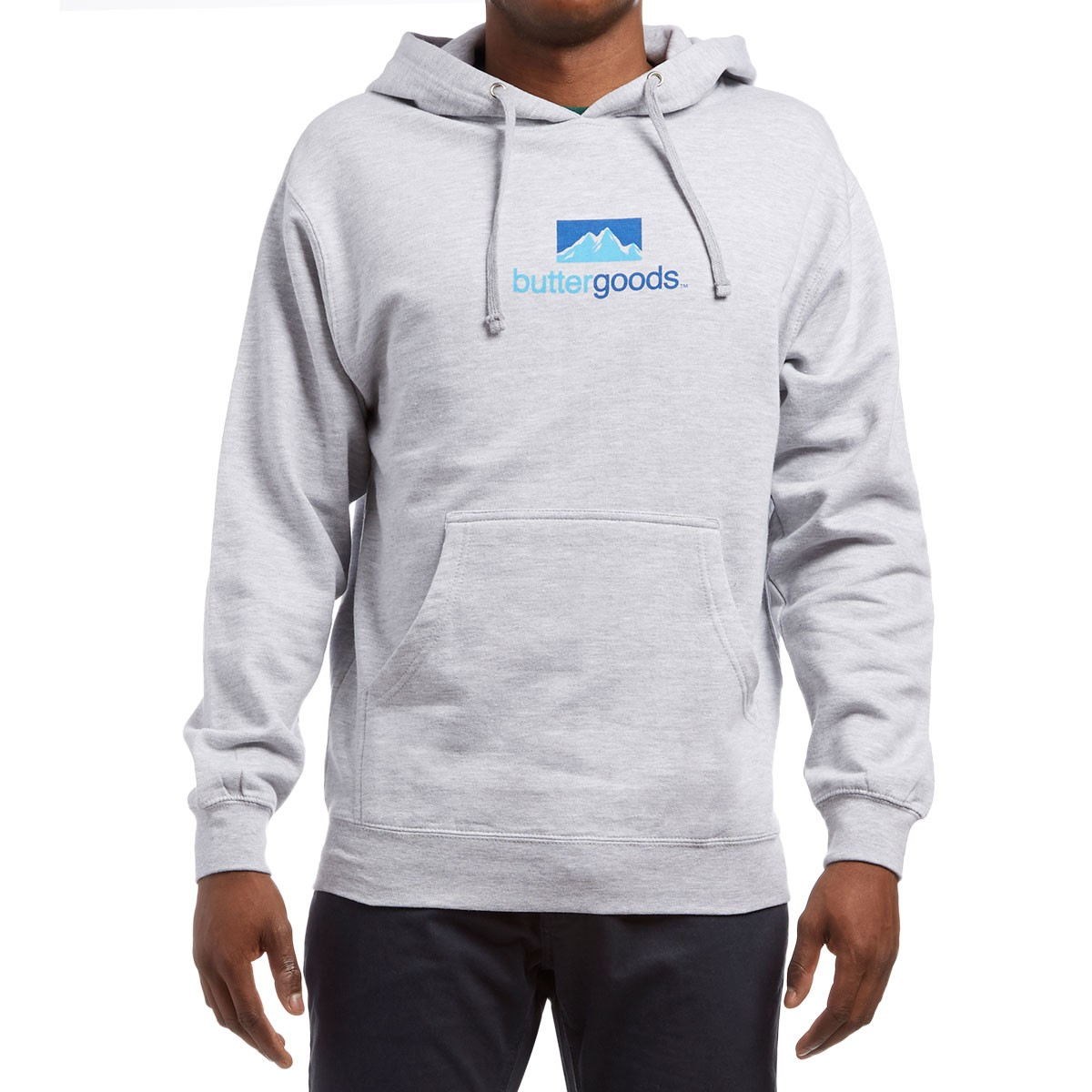 Butter Goods Search Pullover Hoodie - Heather Grey