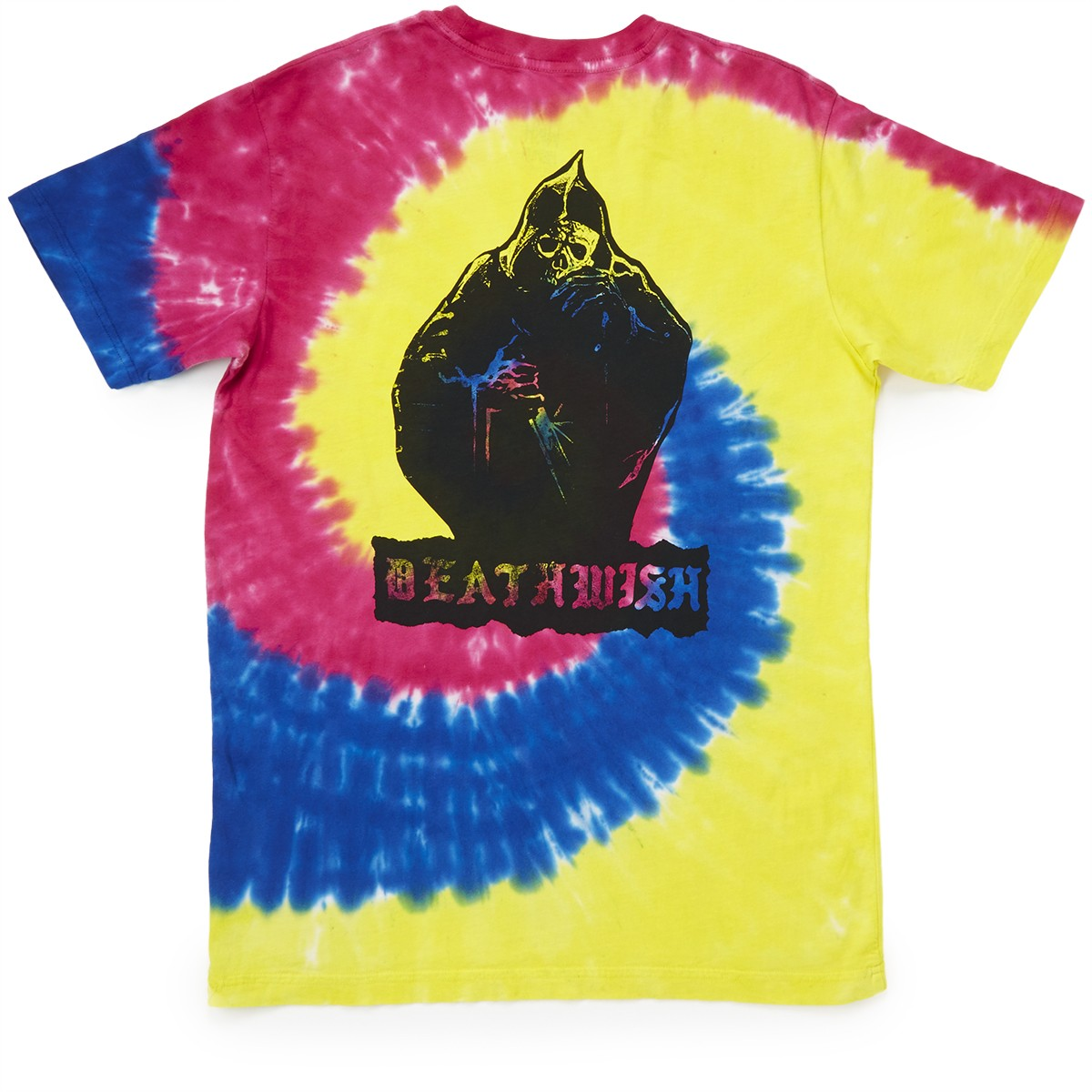 ab07b7b28 Deathwish Colors Of Death T-Shirt - Tie-Dye