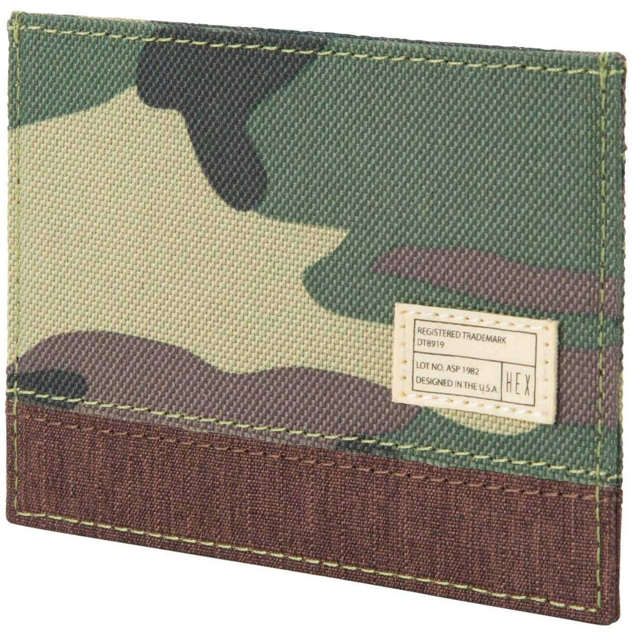 Hex Card Wallet - Aspect Brown/Camo
