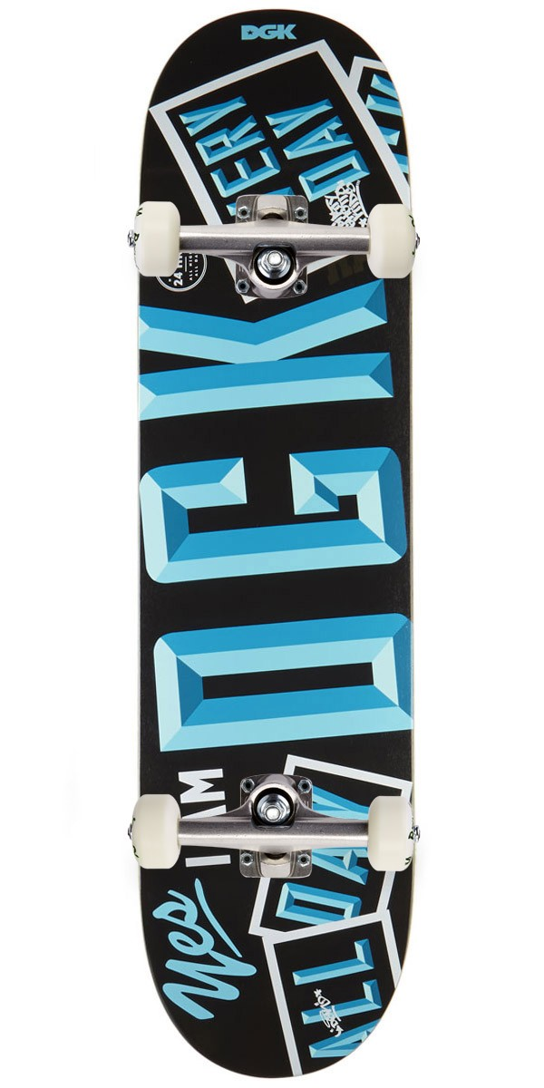 DGK Open Blue Skateboard Complete - 8.06""