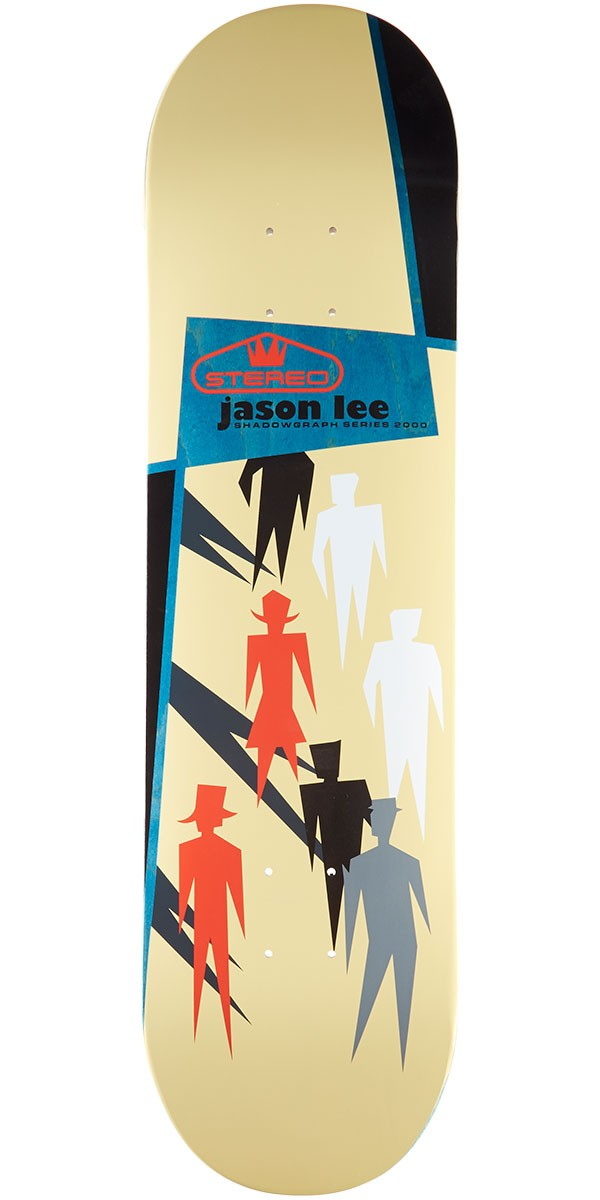 Stereo Lee Shadowgraph Skateboard Deck - 8.25""