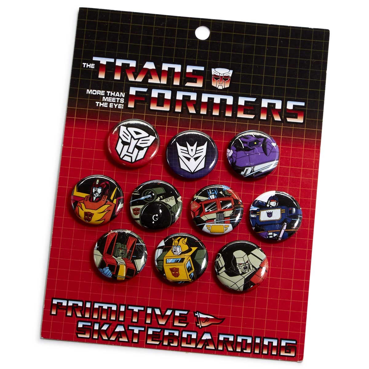 Primitive X Transformers VX Lapel Pin - Multi