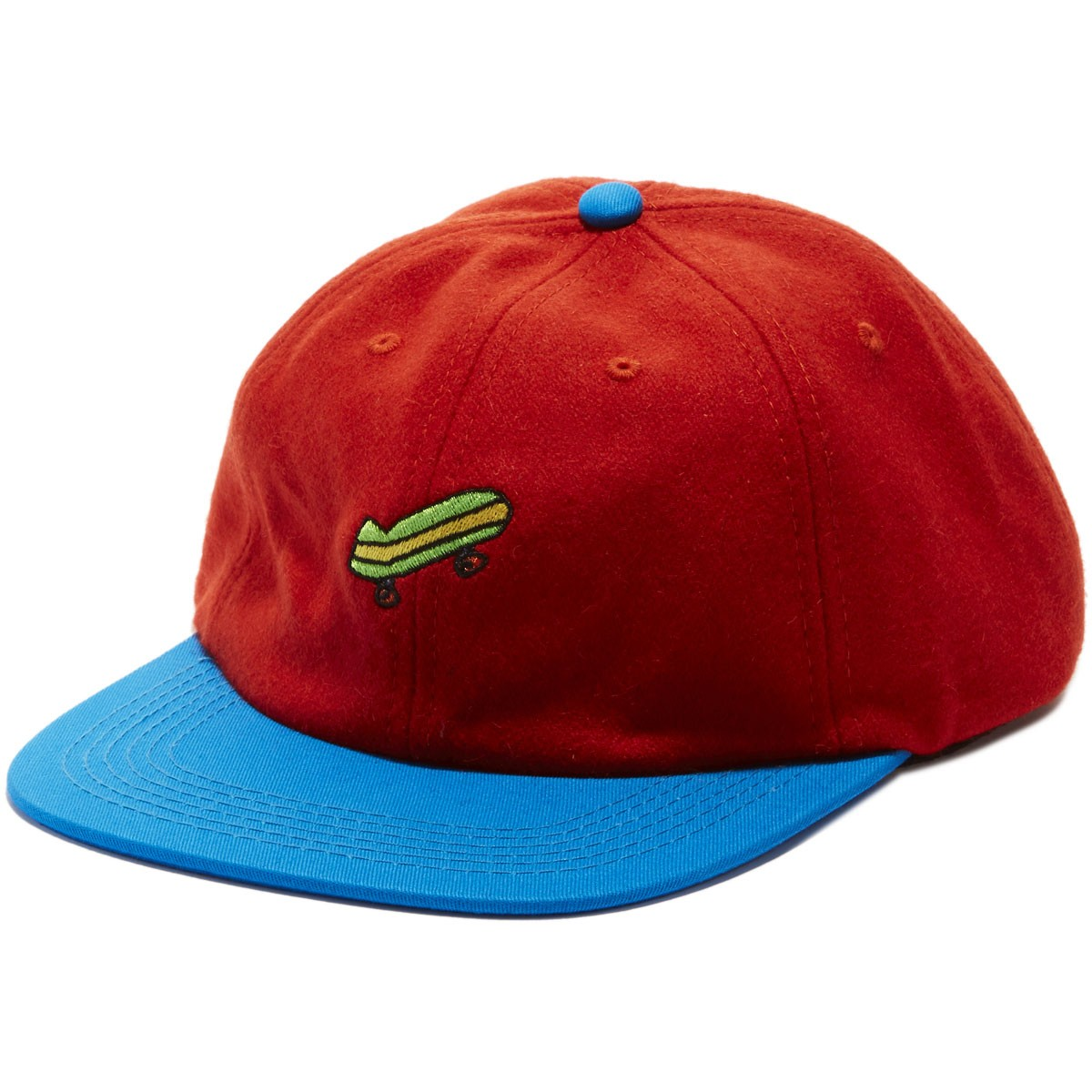 Illegal Civilization Sk8 Strapback Hat - Orange/Blue