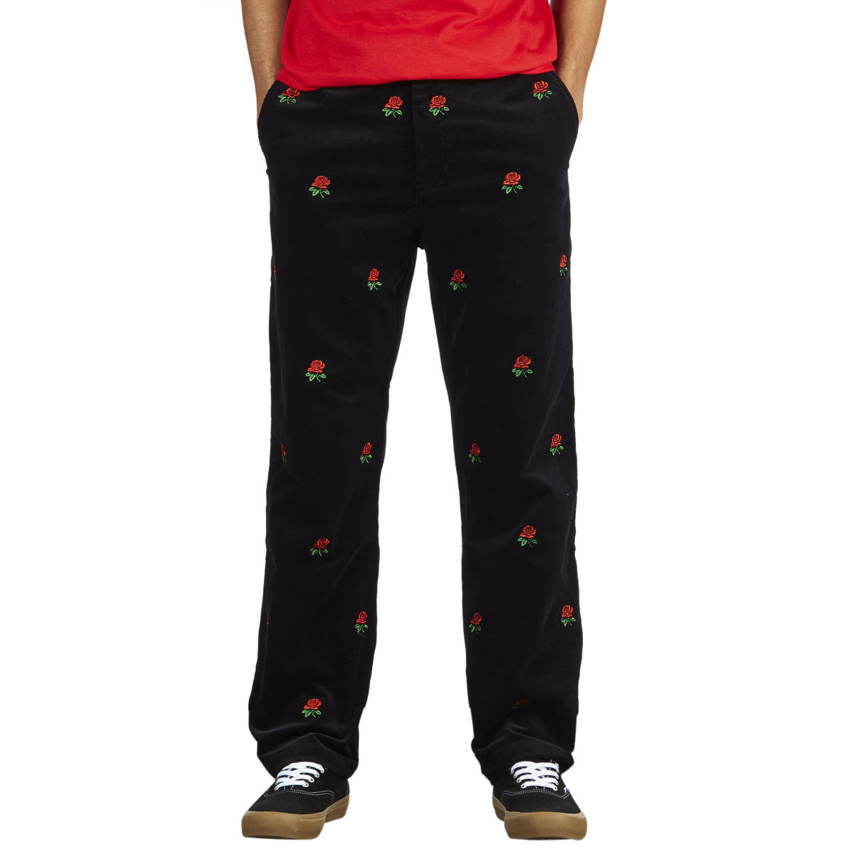 d9acd62ecc477 Butter Goods Rose Corduroy Pants - Black - LG