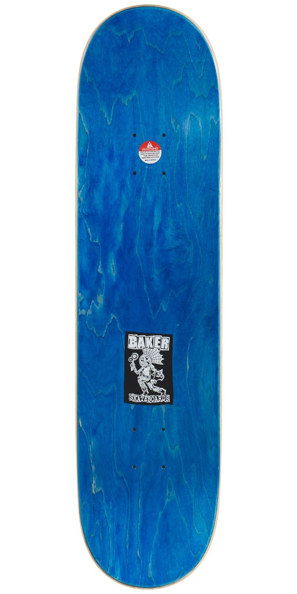"Baker Skateboard Deck Elissa Steamer 8.0/"" with Grip"
