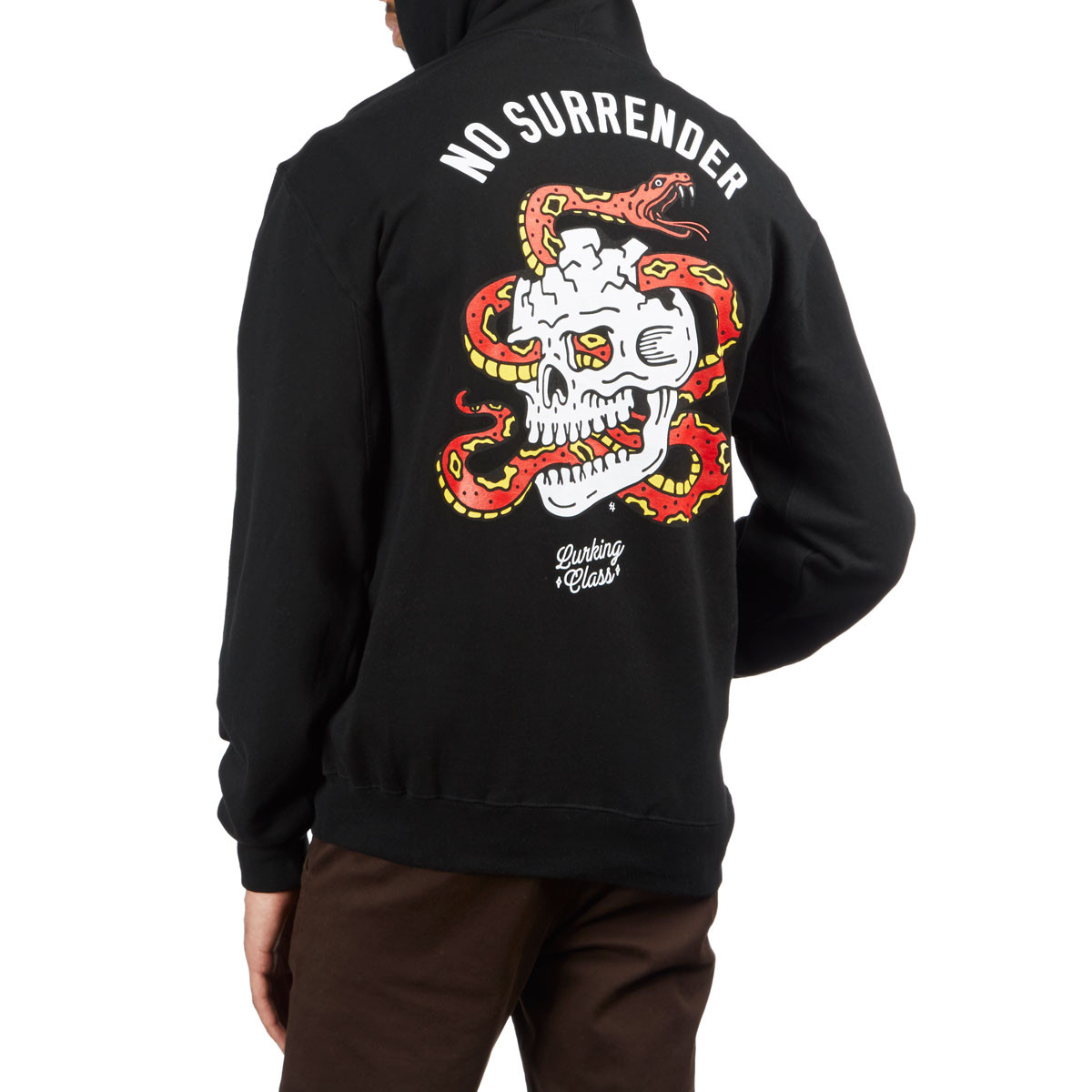 a3a5a008 Sketchy Tank Lurking Class Surrender Hoodie - Black