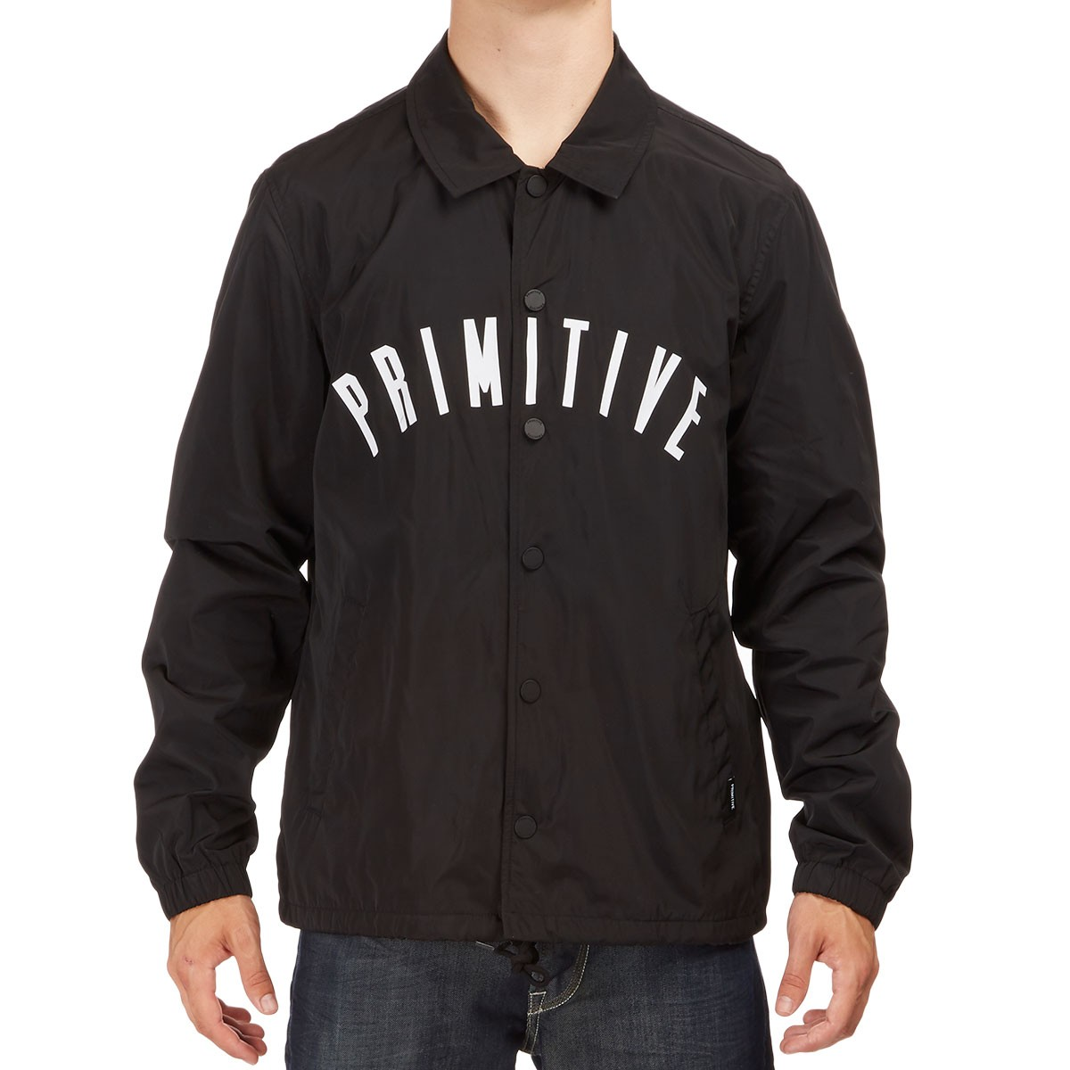Primitive condensed coach jacket black for Coach jacket