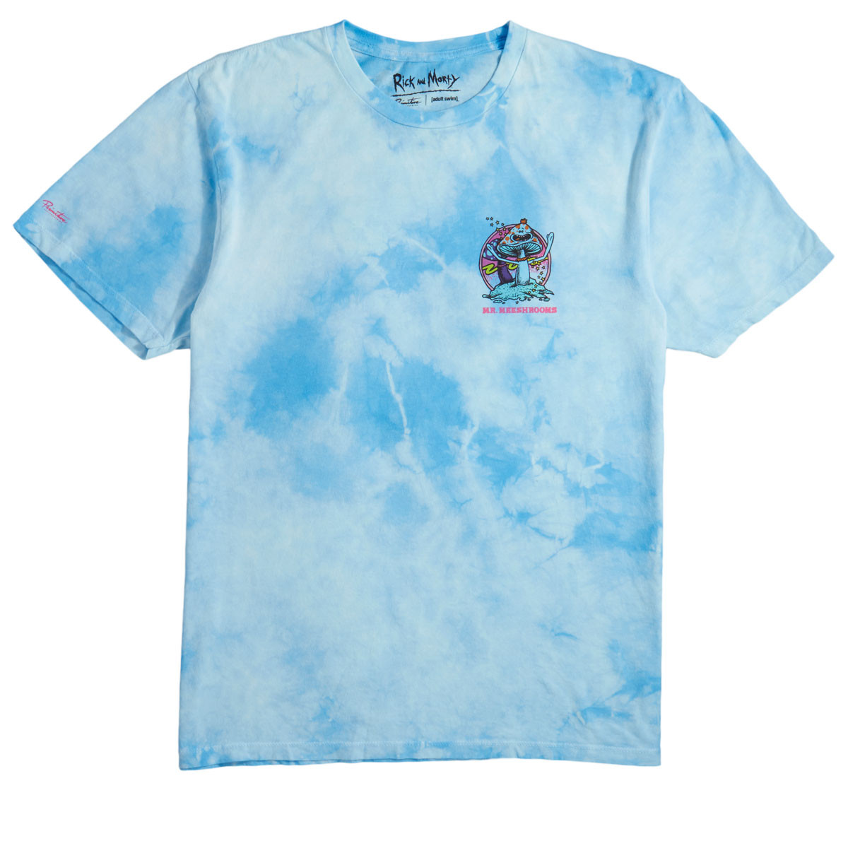 tanie jak barszcz najnowszy dobra obsługa Primitive x Rick and Morty Mr. Meeshrooms T-Shirt - Light Blue Wash