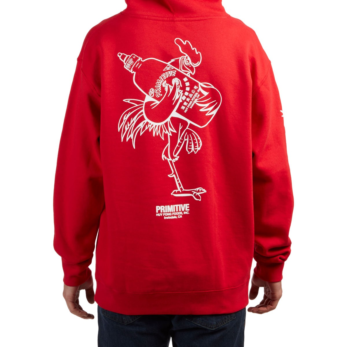 51aa4e3b7 Primitive X Huy Fong Foods Rooster Hoodie - Red