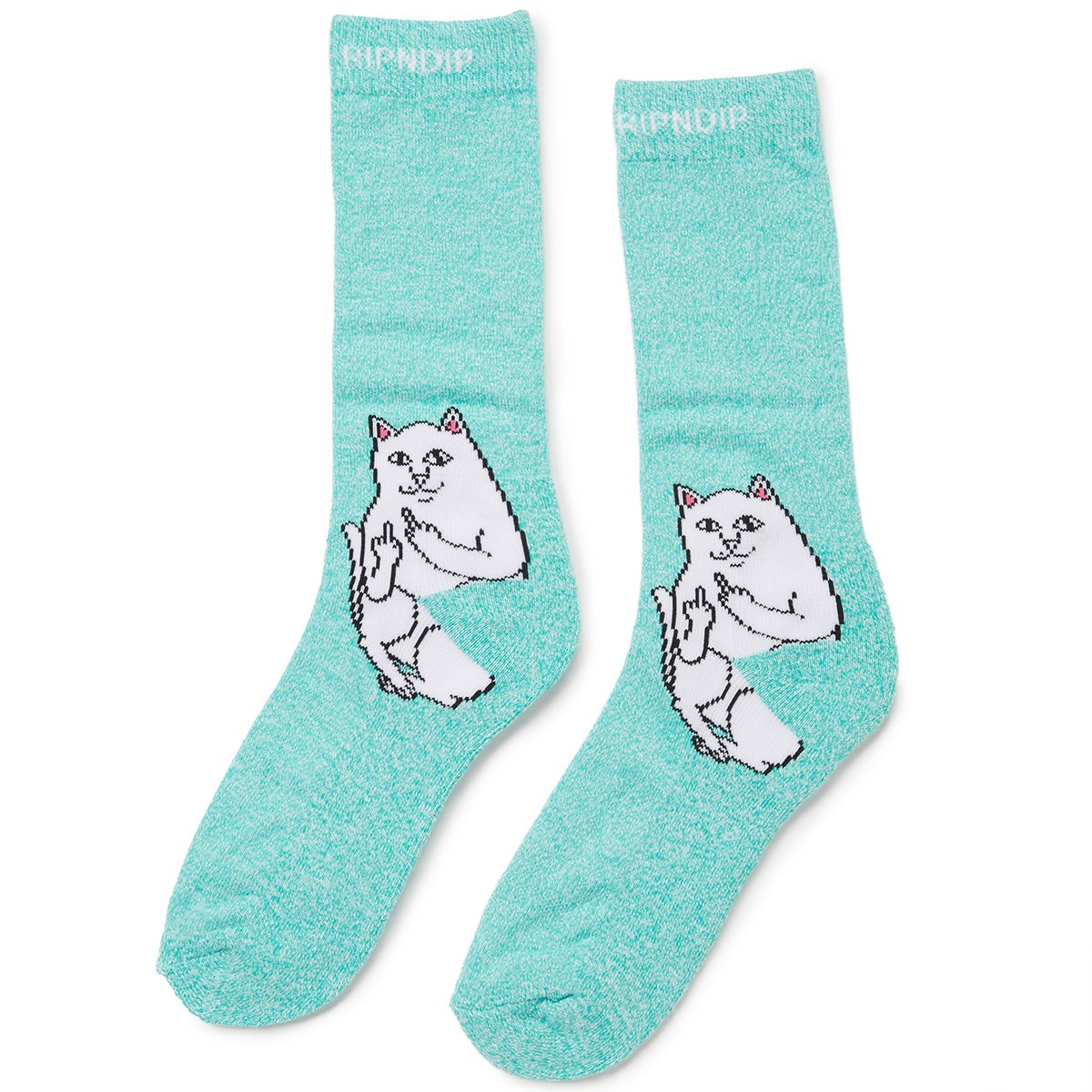 Rip N Dip Lord Nermal Socks - Aqua