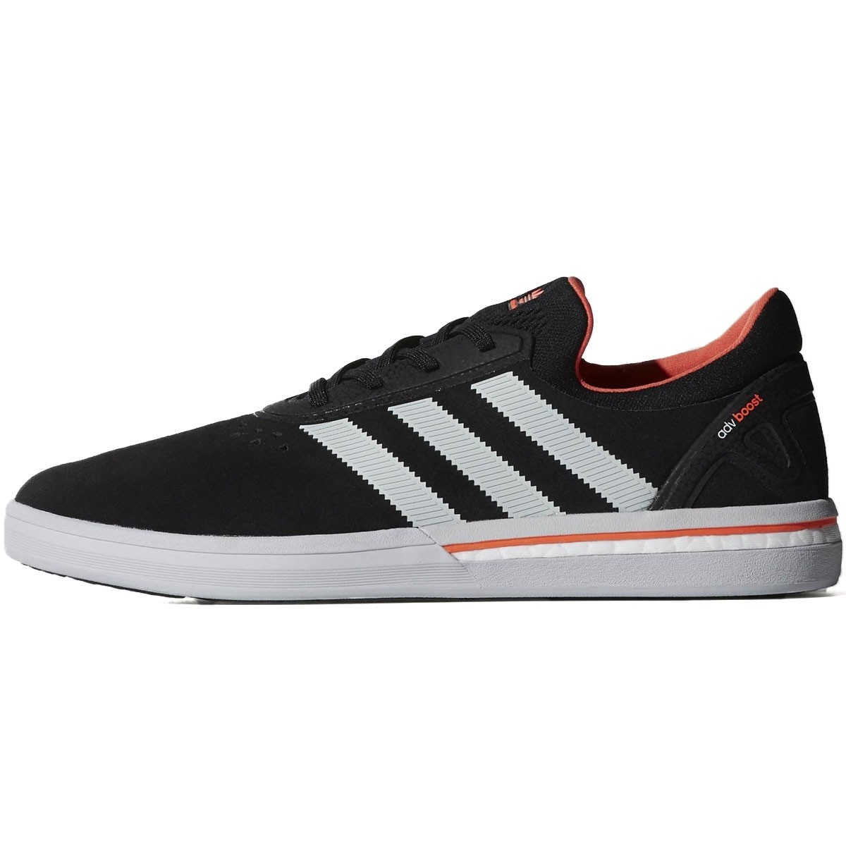 huge discount 0e194 1fde3 Adidas Adv Boost Shoes - Black Clear Grey Solar Red - 8.0