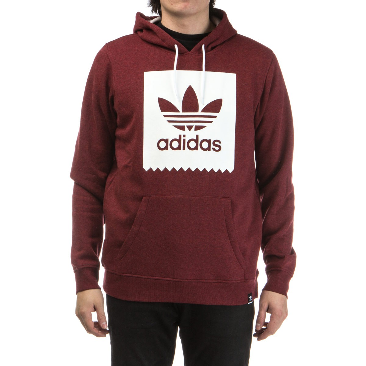 Blackbird Basic Hoodie - Burgundy Heather