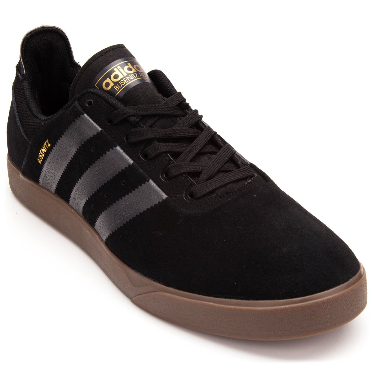 super cute 9102a 209f2 Adidas Busenitz Adv Shoes - BlackCarbonGum - 10.0