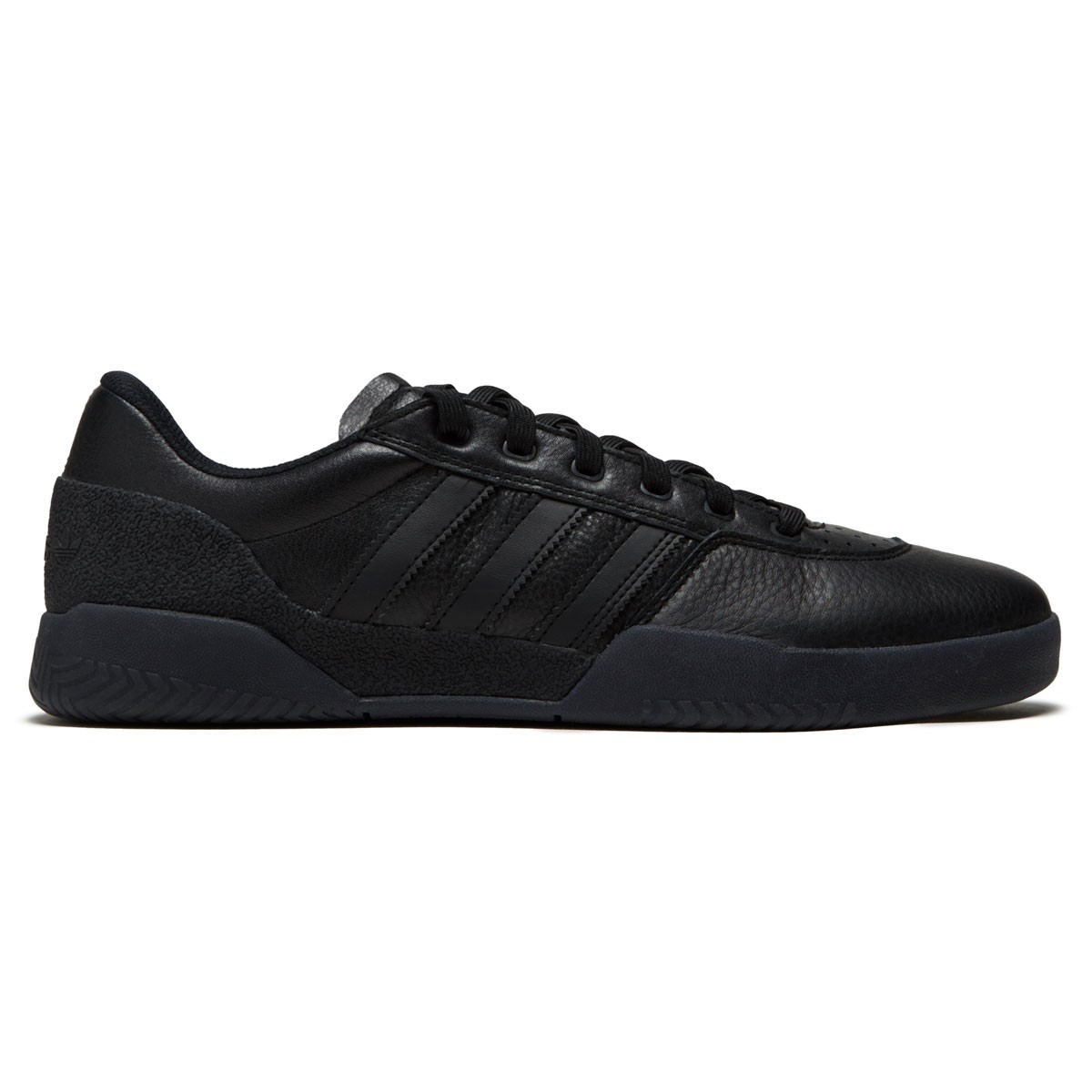 Adidas City Cup Shoes - Core Black/Core Black/Gold Metallic