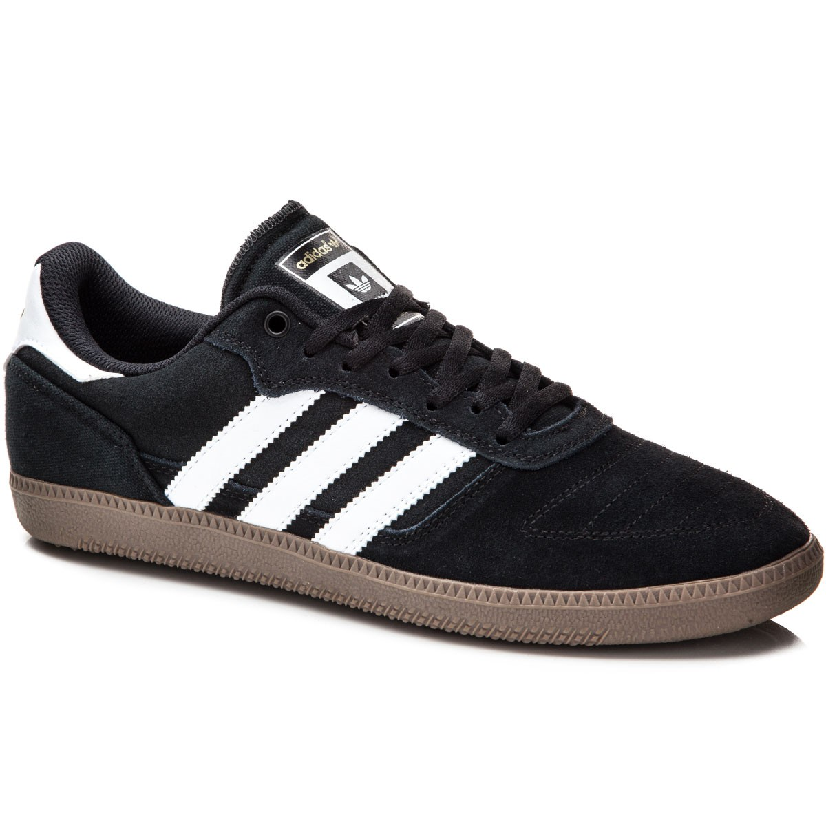 Adidas Skate Copa Shoes - Black/White/White - 7.5
