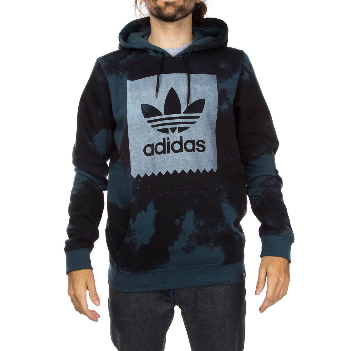 quality products look for really comfortable Adidas D2D Aop Hoodie - Midnight/Black