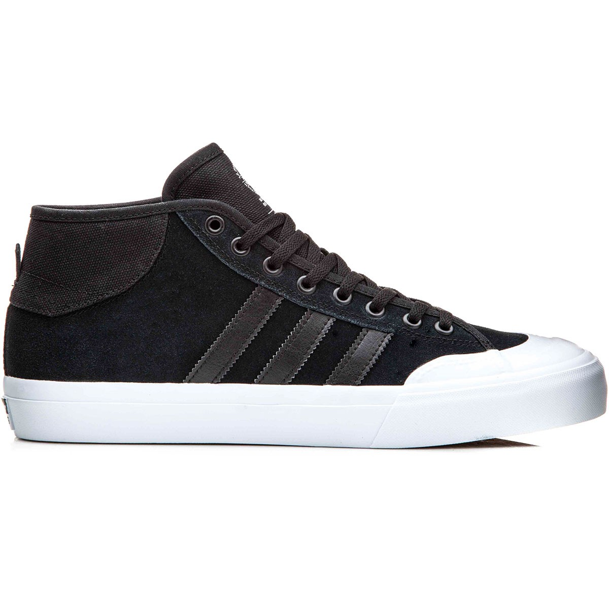9921bd8ad21 Adidas Matchcourt Mid Shoes - Black Black White - 13.0