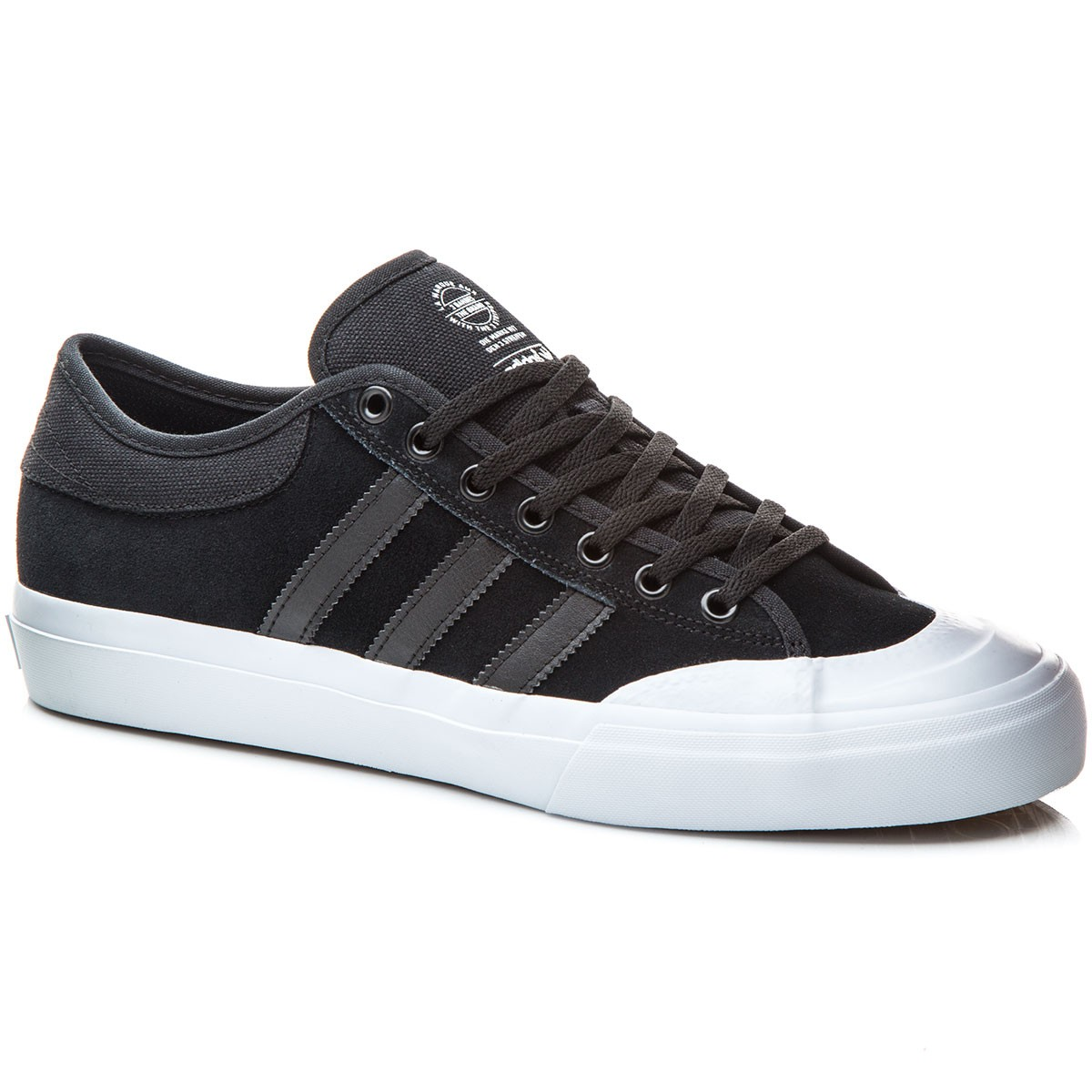Adidas Matchcourt Shoes - BlackBlackWhite - 6.0