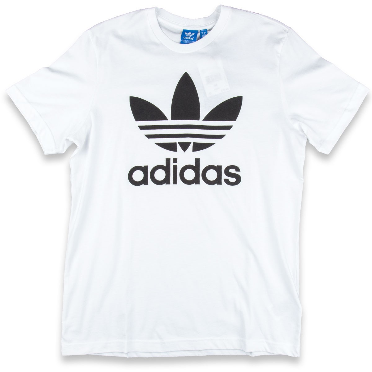 Adidas original trefoil t shirt white for Adidas lotus t shirt