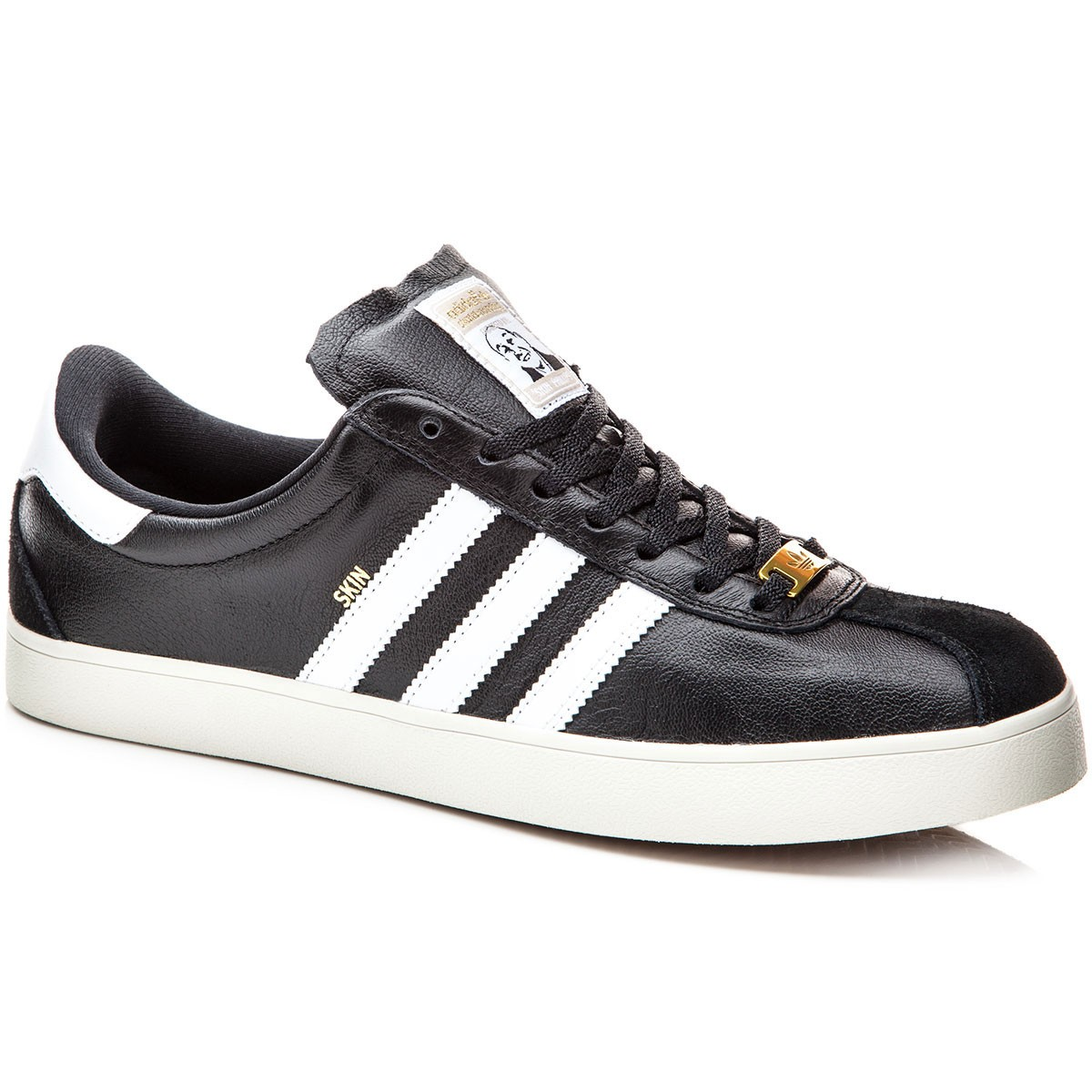 hot sale online bff23 67f09 Adidas RYR Skin Skate Shoes - BlackGold Metallic - 9.0