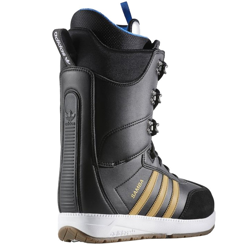 outlet on sale top quality detailed pictures Adidas Samba ADV Snowboard Boots - Black/Gold Metallic/White