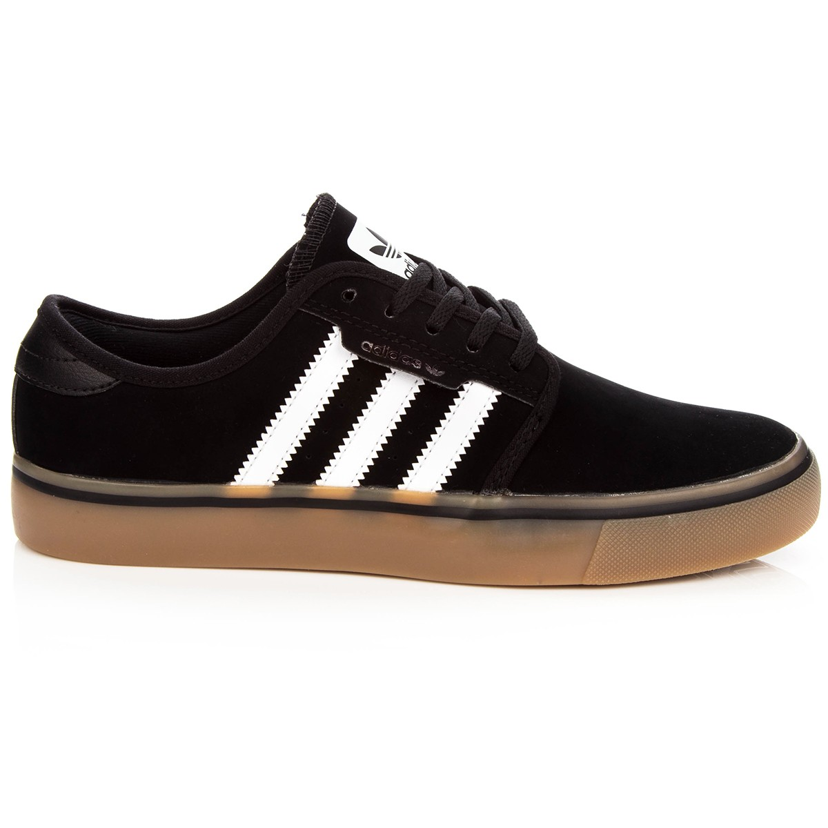 Adidas Seeley Big Kid Shoes - Core Black White Gum - 4Y f97f8b971