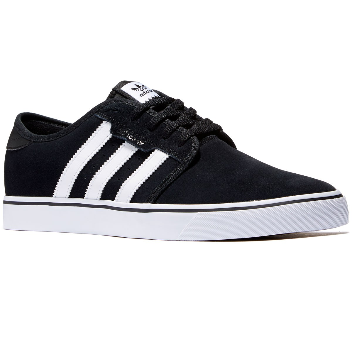 Adidas Seeley Shoes - Black/White/Black - 4.0