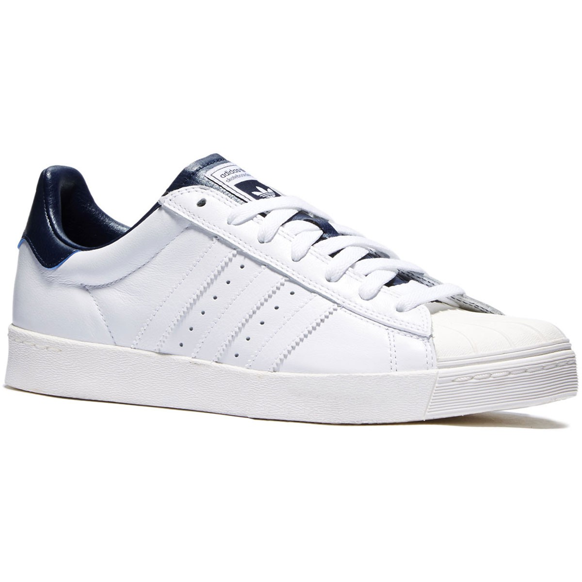 Superstar Vulc ADV Shoes Black Suede, White, White In Stock at The