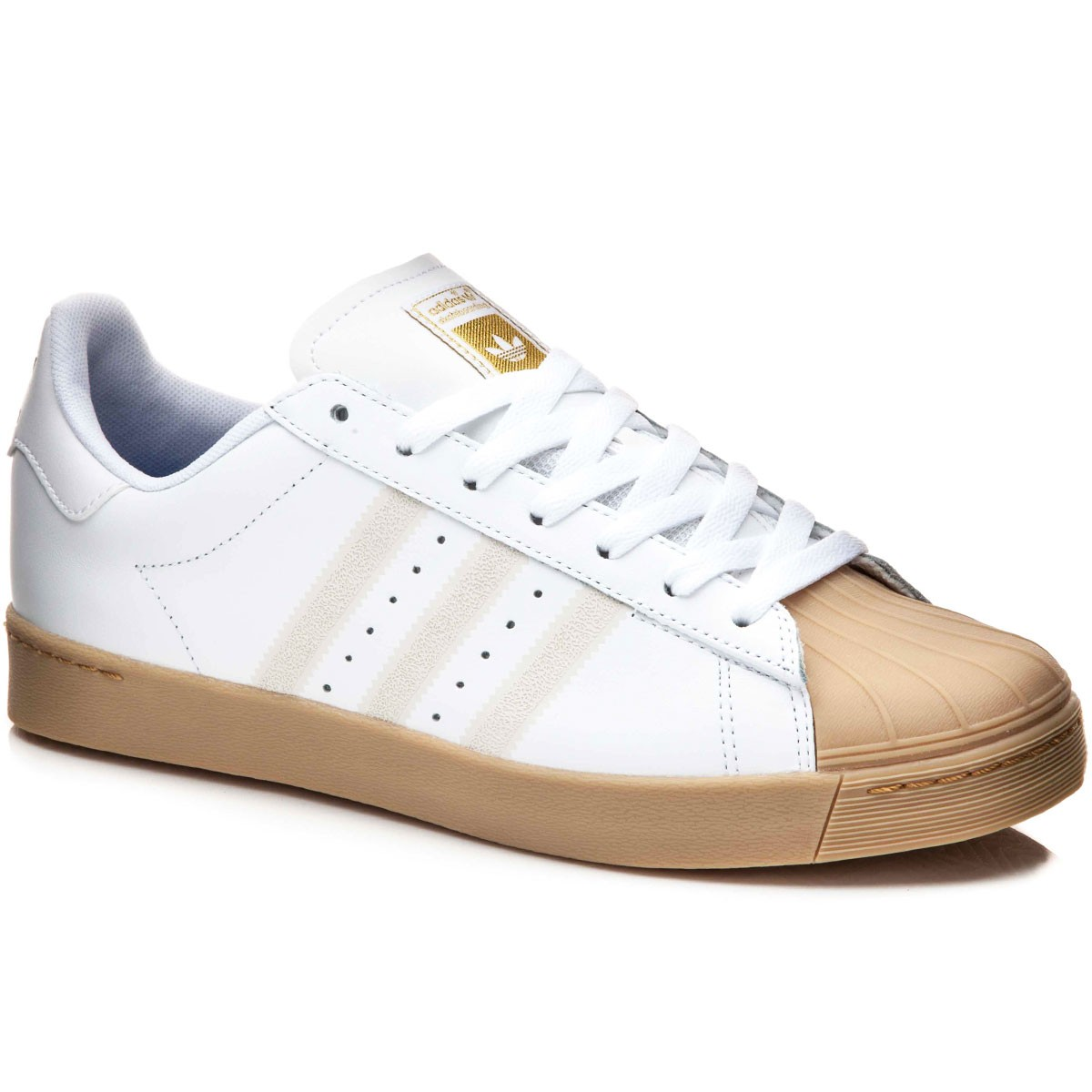 adidas Superstar Vulc ADV (White/Collegiate Royal/Gold