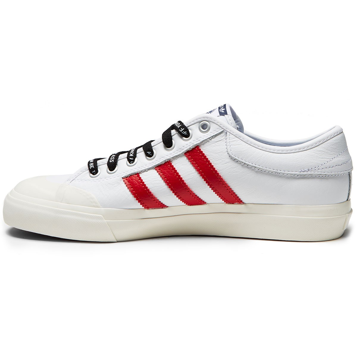Adidas x Trap Lord Ferg Matchcourt Shoes White Scarlet