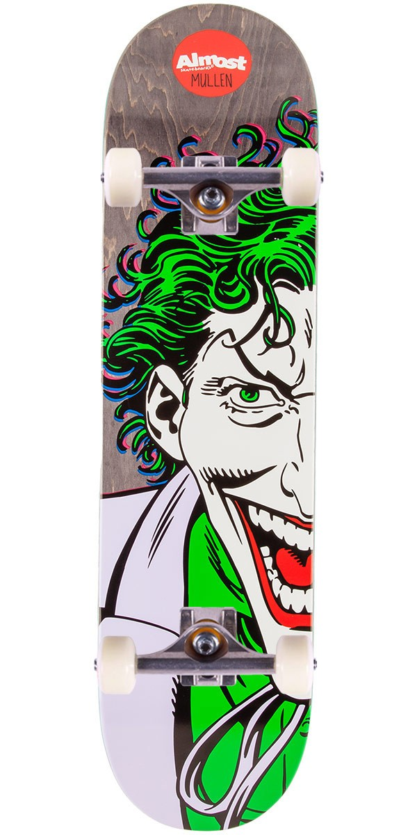 Almost Joker Split Face Mullen Skateboard Complete - 8.125""