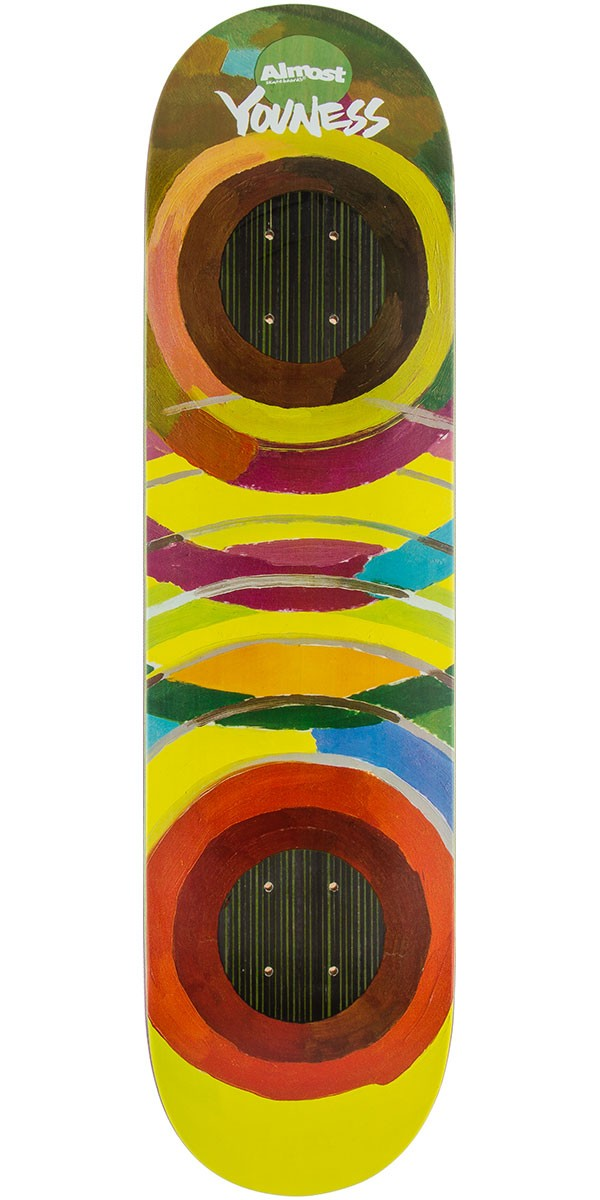 Almost Lotti Painted Rings Impact Amrani Skateboard Deck - 8.0""