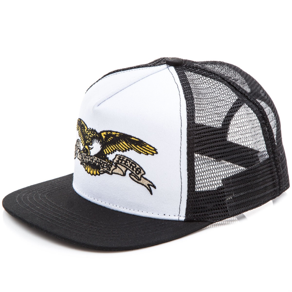 f7e51dbb Anti-Hero Eagle Trucker Hat - White/Black