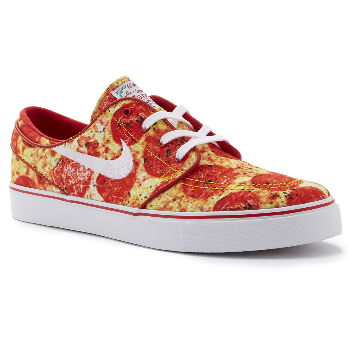 on sale 4ef09 d9d40 Nike SB X Skate Mental Zoom Stefan Janoski Pizza Shoes