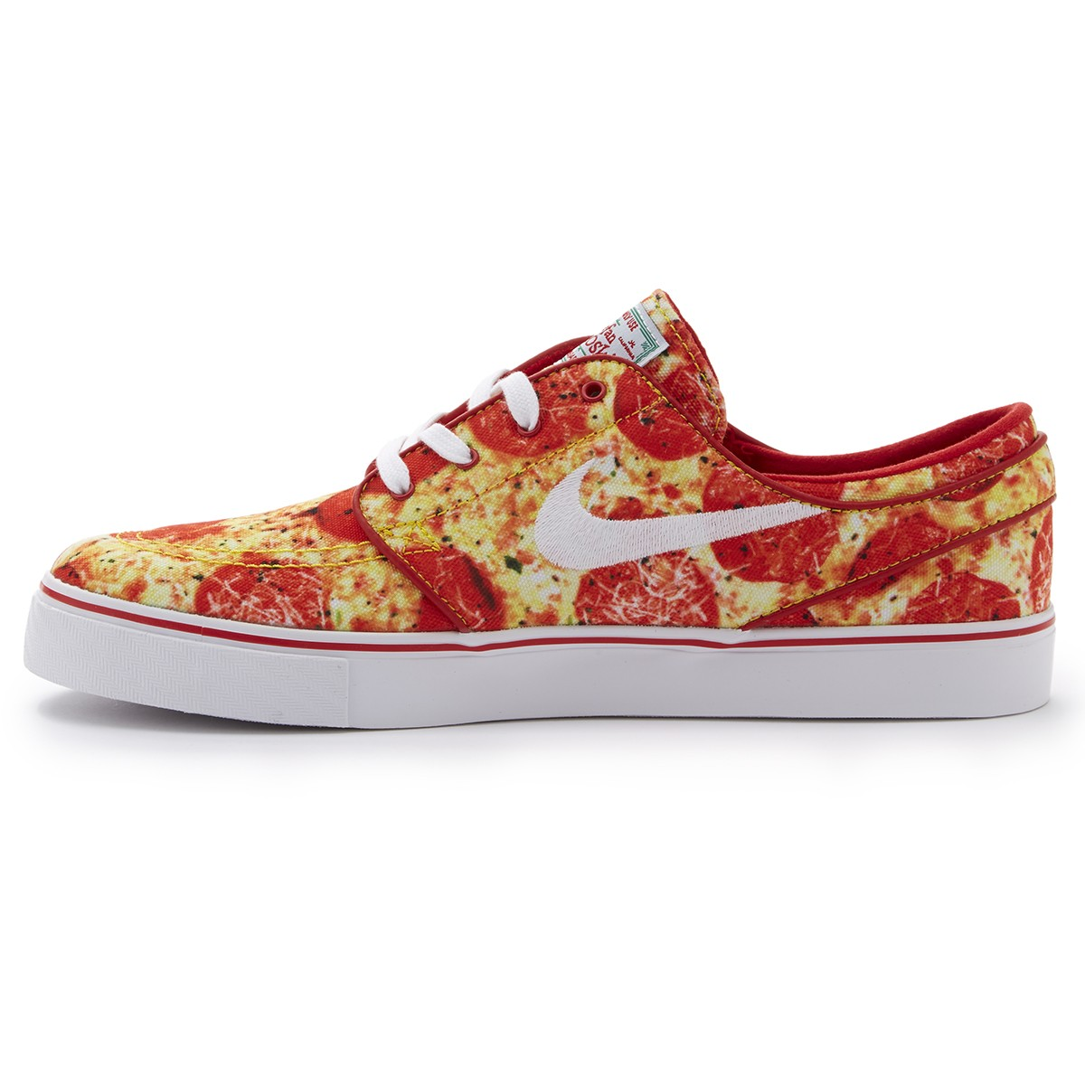 newest collection 2846c 48d79 Nike SB X Skate Mental Zoom Stefan Janoski Pizza Shoes - Red White - 4.0