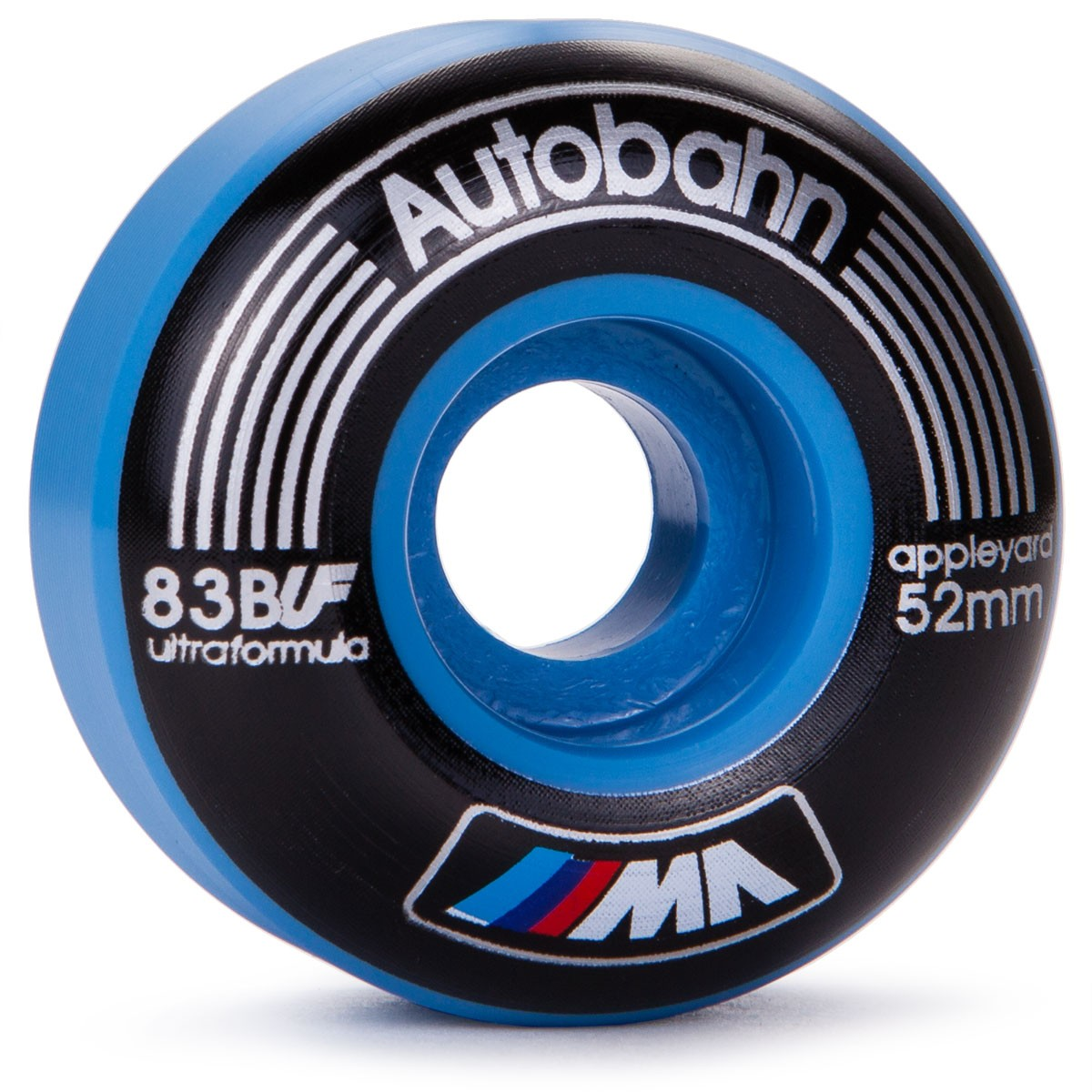 autobahn appleyard ultimate skateboard wheels 52mm 83b ccs com