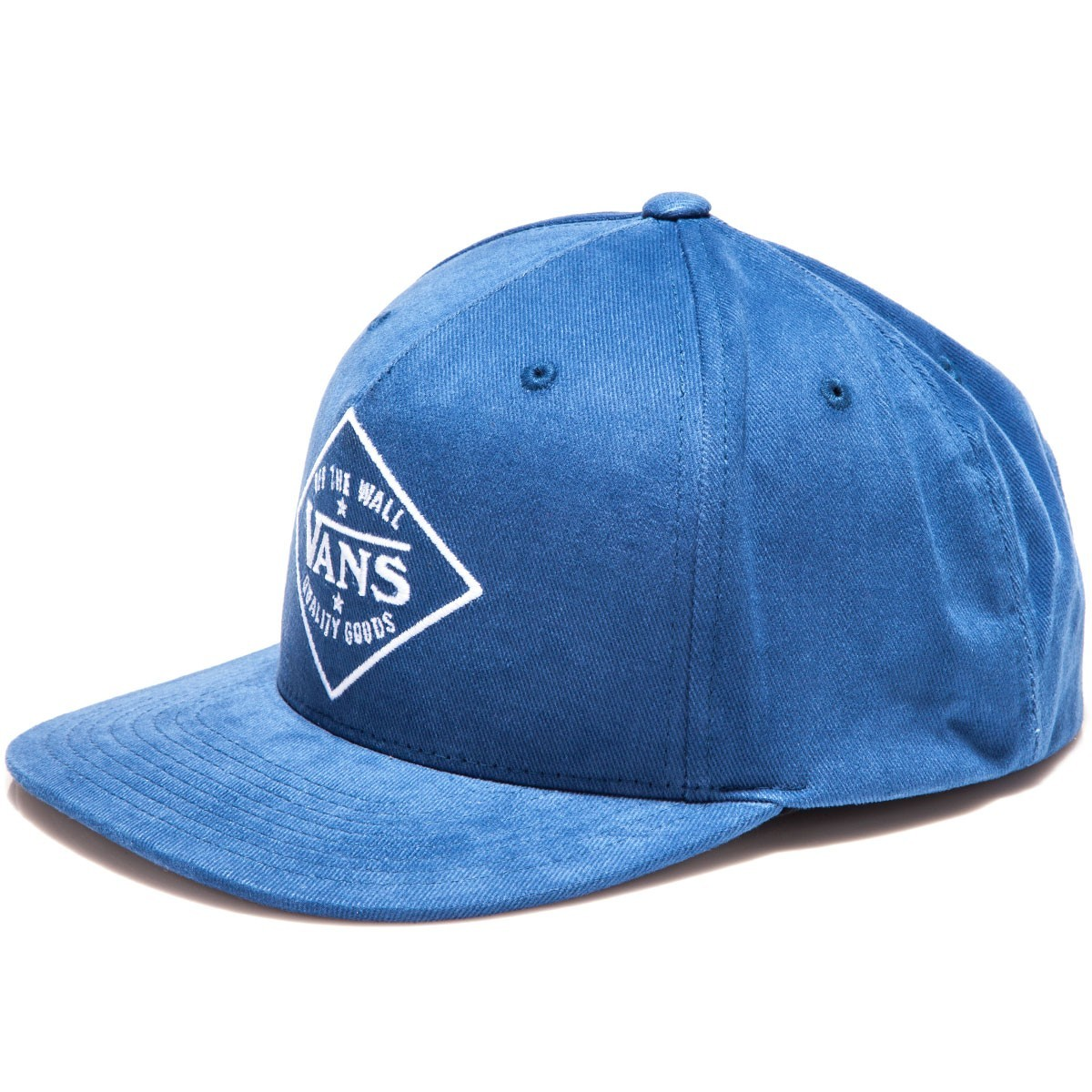 Vans Badge Snapback Hat - Blue Print 110742cbaf3
