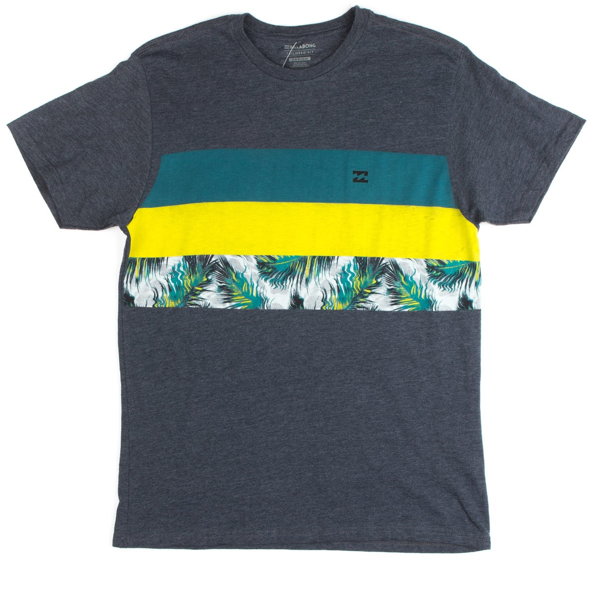 billabong tshirt  Billabong Tribong Spin T-Shirt - Indigo Heather