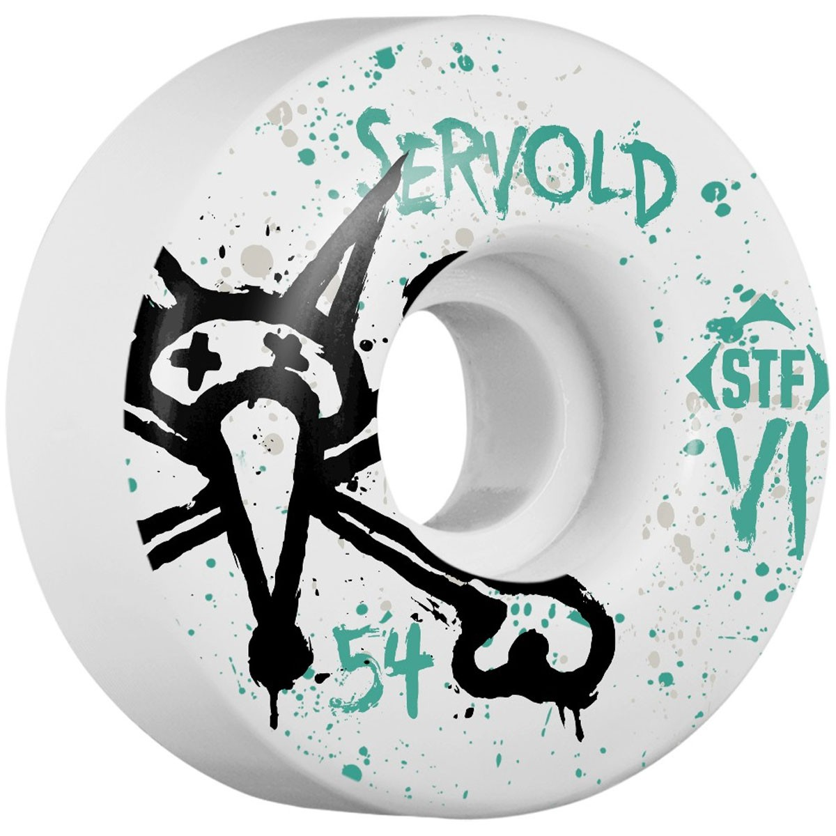 Bones Servold Vato OP V1 Skateboard Wheels - 54mm