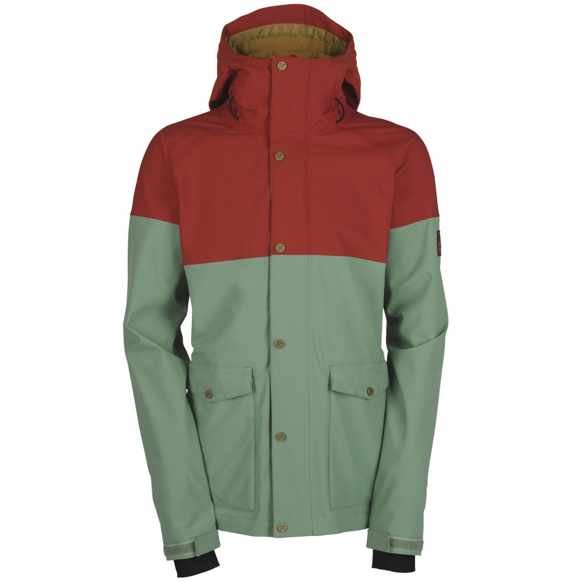 Bonfire Tanner Jacket 2015 - Cadet/Red Rum - X
