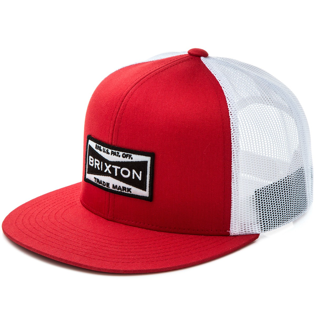 Brixton Fuel Mesh Hat - Red White 80baee56569
