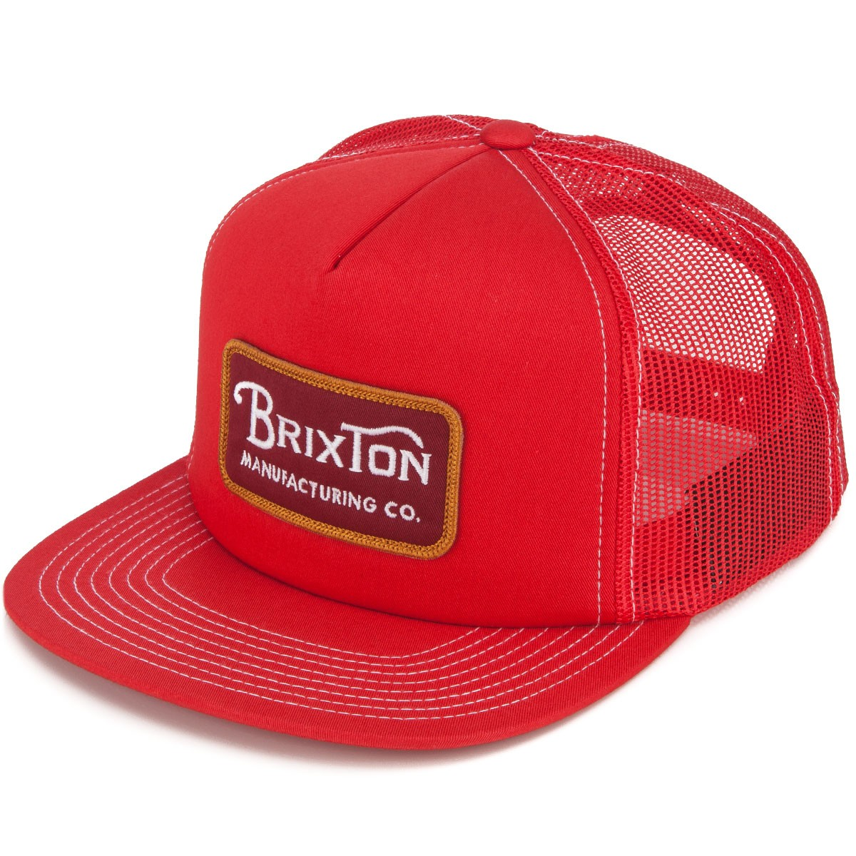 Brixton Grade Mesh Hat - Red 5a51a59642ee