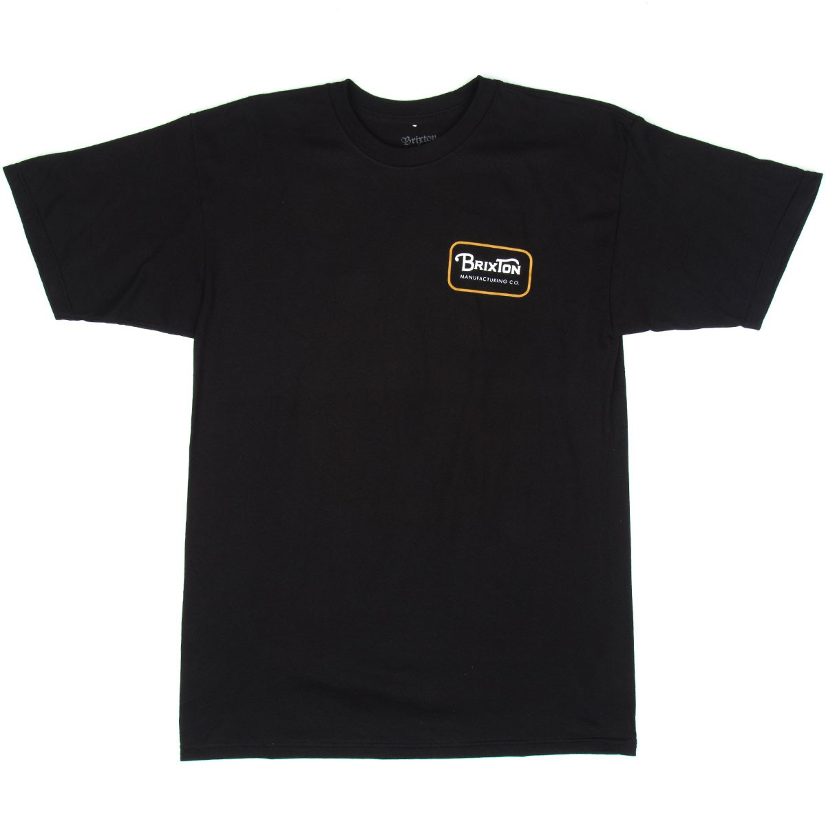 Brixton Grade Standard T-shirt - Black/Orange